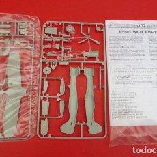 Radio Control: FOCKE WULF..FW 190 A-8...ESCALA 1/72.... Lote 194094102