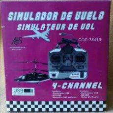 Radio Control: MANDO 4 CANALES SIMULADOR DE VUELO DE R/C. Lote 194234693
