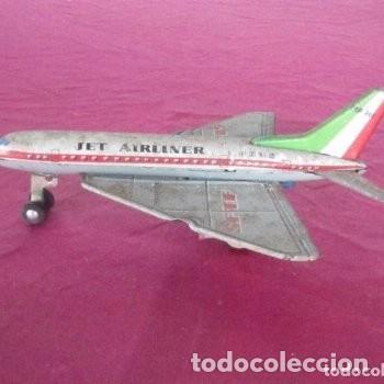 AVION DE HOJALATA JET AIRLINER MF 205 JUGUETE DE HOJALATA C14 (Juguetes - Modelismo y Radiocontrol - Radiocontrol - Aviones y Helicópteros)