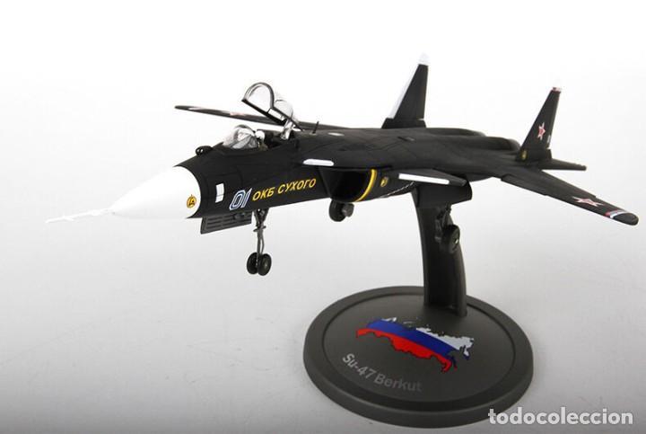 AVIÓN RUSO SUKHOI SU-47 BERKUT 1/72 (Juguetes - Modelismo y Radiocontrol - Radiocontrol - Aviones y Helicópteros)