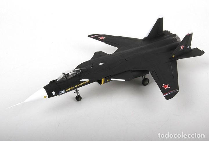 Radio Control: avión ruso Sukhoi SU-47 Berkut 1/72 - Foto 2 - 194334093