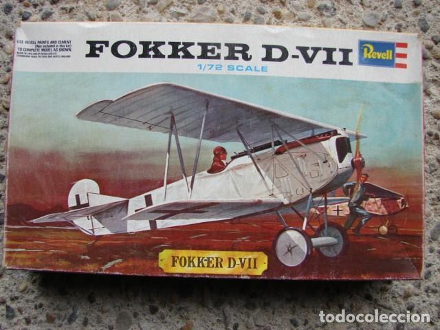 MAQUETA FOKKER D-VII A ESCALA 1/72 - REVELL (Juguetes - Modelismo y Radiocontrol - Radiocontrol - Aviones y Helicópteros)