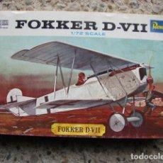Radio Control: MAQUETA FOKKER D-VII A ESCALA 1/72 - REVELL. Lote 194337533