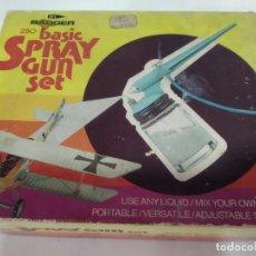 Radio Control: CAJA PARA PINTAR AVIONES SPRAY GUN SET . Lote 196604013
