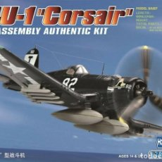 Radio Control: F4U-1 CORSAIR IT 80217 HOBBYBOSS 1/72. Lote 197772750