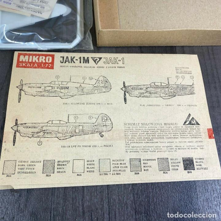 Radio Control: JAK-1M MIKRO 1/72 RARE VINTAGE 1981 - Foto 2 - 197784658