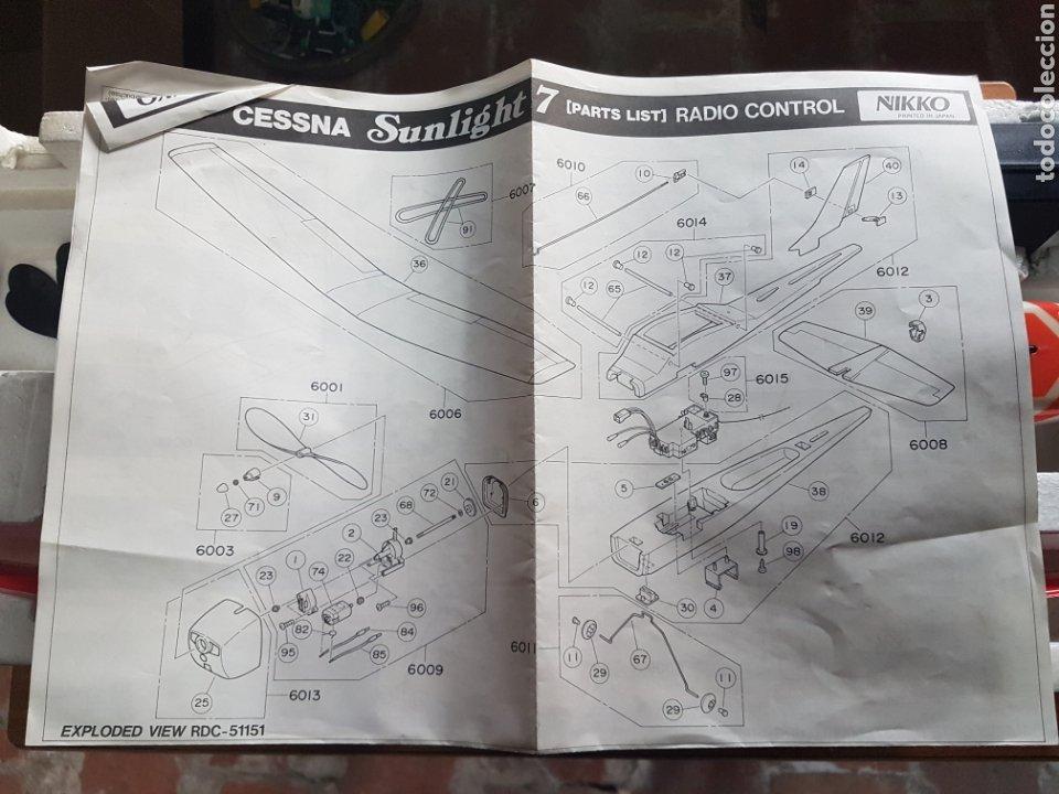 Radio Control: AVIONETA NIKKO ESCALA 1/15 MODELO CESSNA SUNLIGHT-7 REF 51151 - Foto 7 - 197850027
