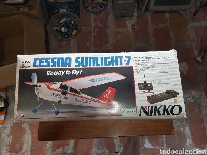 AVIONETA NIKKO ESCALA 1/15 MODELO CESSNA SUNLIGHT-7 REF 51151 (Juguetes - Modelismo y Radiocontrol - Radiocontrol - Aviones y Helicópteros)