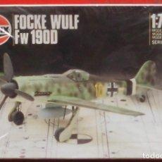 Radio Control: FOCKE WULF FW-190 D-9. AIRFIX ESCALA 1/72. MODELO NUEVO. Lote 198259525