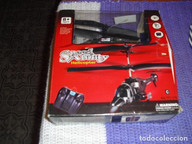 Radio Control: SPEED ABILITY - HELICOPTER - HELICOPTERO DIRIGIDO POR RADIO, - Foto 3 - 203756030