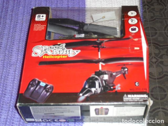 SPEED ABILITY - HELICOPTER - HELICOPTERO DIRIGIDO POR RADIO, (Juguetes - Modelismo y Radiocontrol - Radiocontrol - Aviones y Helicópteros)