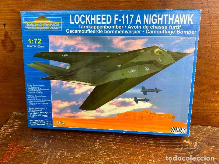MAQUETA AVIÓN 1:72 - LOCKHEED F-117 - NUEVO SIN USO (Juguetes - Modelismo y Radiocontrol - Radiocontrol - Aviones y Helicópteros)