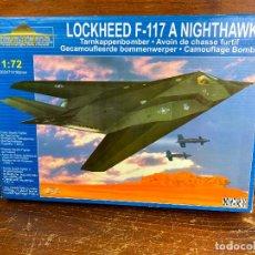 Radio Control: MAQUETA AVIÓN 1:72 - LOCKHEED F-117 - NUEVO SIN USO. Lote 204056200