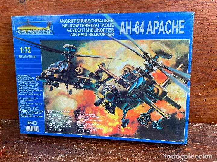 MAQUETA AH 64 APACHE 1:72 - NUEVO SIN USO (Juguetes - Modelismo y Radiocontrol - Radiocontrol - Aviones y Helicópteros)