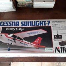 Radiocommande: NIKKO CESSNA SUNLIGHT -7. Lote 204419310