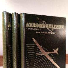 Radio Control: AEROMODELISMO Y RADIO CONTROL. ENCICLOPEDIA PRÁCTICA. 3 VOLÚMENES: OBRA COMPLETA.. Lote 205017230