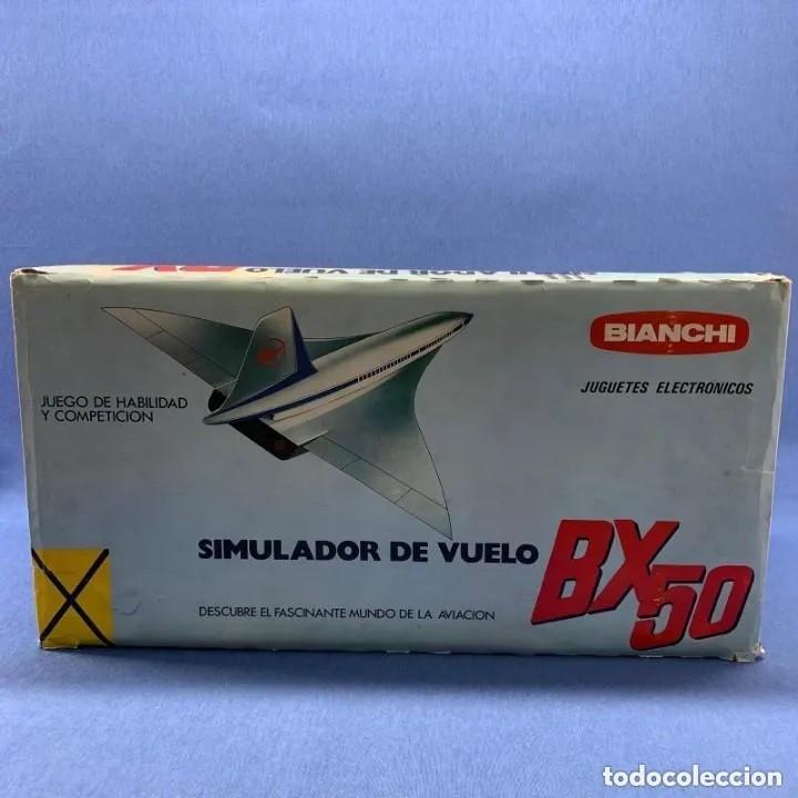 Radio Control: SIMULADOR DE VUELO - BIANCHI - BX 50 - MADE IN SPAIN - AÑOS 80´S - Foto 6 - 205136987