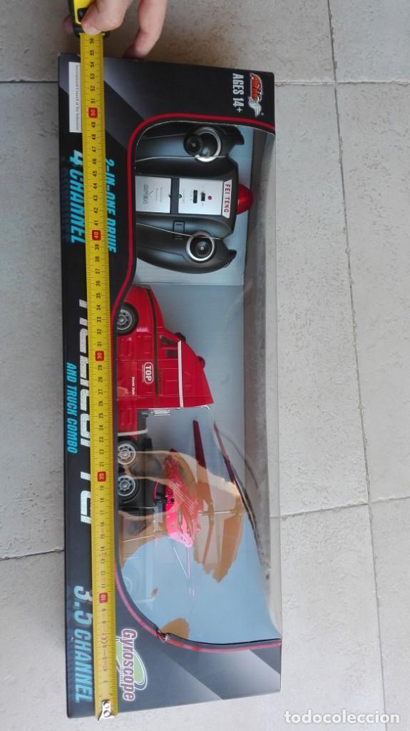 Radio Control: Camion y helicóptero RC, 2 en 1 - Foto 4 - 216533088