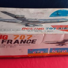 Radio Control: MAQUETA BOEING 707 AIR FRANCE AVION DE METAL FUNCIONA. Lote 220064588
