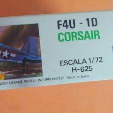 Radio Control: VOUGHT F4U-1D CORSAIR. REVELL ESCALA 1/72 , VER FOTOS Y ESTADO. Lote 224101018