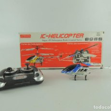 Radio Control: HUGUETE RADIOCONTROL IC-HELICOPTER. Lote 225182033