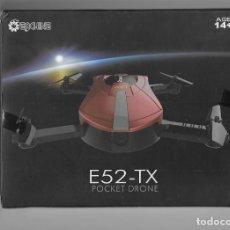 Rádio Controlo: DRONE - EACHINE E52 PLEGABLE CON CÁMARA WIFI FPV. Lote 228258288