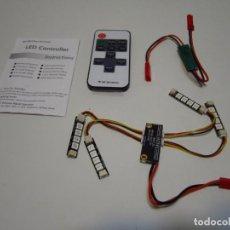 Radio Control: LEDS I LUCES RGB CON CONTROLADOR Y MANDO A DISTANCIA NUEVOS. Lote 229132160