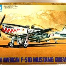Radio Control: TAMIYA 1:48 • NORTH AMERICAN F-51D 'MUSTANG' • VERSIONES GUERRA DE KOREA USAF (ED. 1996). Lote 232079695