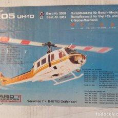 Radio Control: HELICÓPTERO RADIOCONTROL VARIO 2050 BELL 205 UH-1D. Lote 233026950