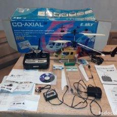Rádio Controlo: HELICOPTERO RADIO CONTROL A BATERÍA, ESKY HOBBY, EN CAJA GRANDE.. Lote 236907880