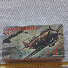 Radio Control: ANTIGUA MAQUETA DE AVIONES LAVOCHKIN LA5. Lote 237982635