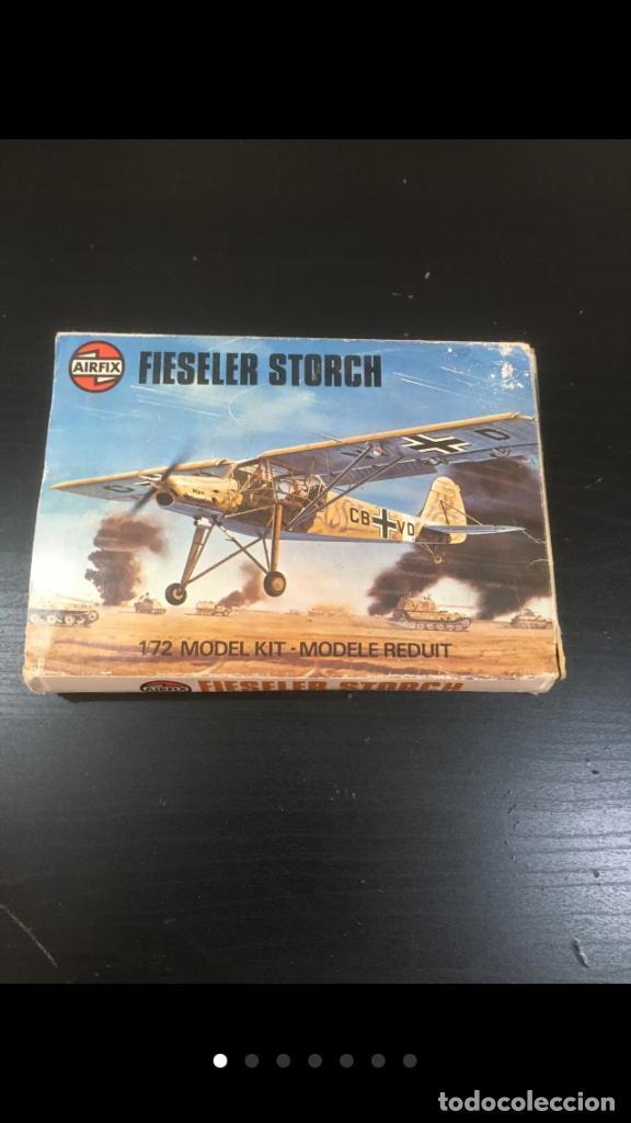 MAQUETA AIRFIX FIESELER STORCH 1/72 -LEER BIEN (Juguetes - Modelismo y Radiocontrol - Radiocontrol - Aviones y Helicópteros)