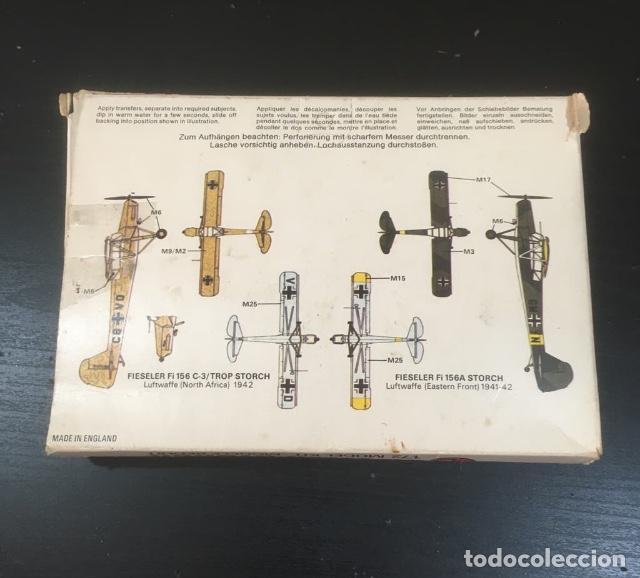 Radio Control: MAQUETA AIRFIX FIESELER STORCH 1/72 -LEER BIEN - Foto 2 - 241438865