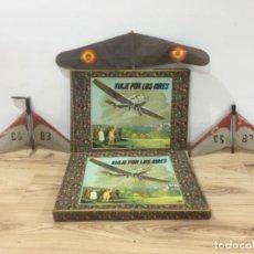 Radio Control: LOTE AVIONES JUGUETE ANTIGUOS MUSEO- ALTA COLECCIÓN. Lote 241709660