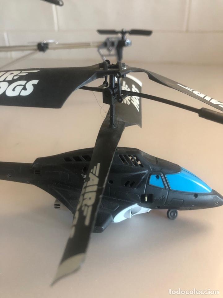 Radio Control: 3 helicópteros, no tienen mandos pero son muy buenos . Se venden para piezas - Foto 4 - 244666485
