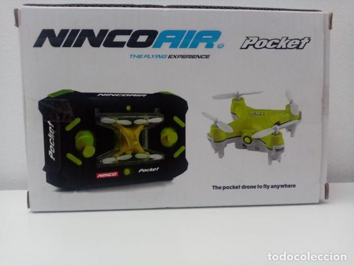 MINI DRON/DRONE NINCOAIR POCKET DE NINCO (Juguetes - Modelismo y Radiocontrol - Radiocontrol - Aviones y Helicópteros)