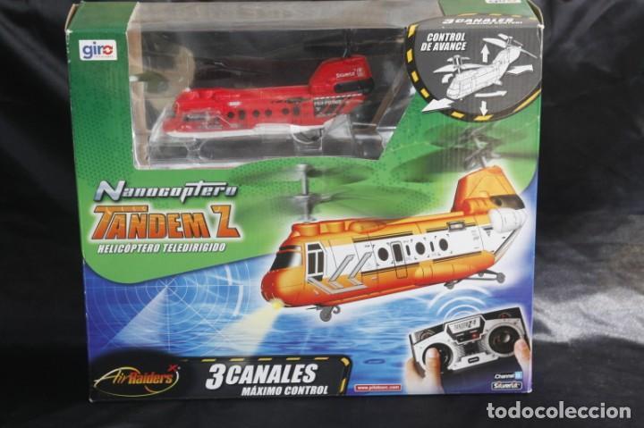 HELICÓPTERO TELEDIRIGIDO TANDEM Z (Juguetes - Modelismo y Radiocontrol - Radiocontrol - Aviones y Helicópteros)