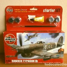 Radio Control: STARTER SET HAWKER TYPHOON IB - ESCALA 1:72 - CAZABOMBARDERO MONOPLAZA BRITÁNICO 2ª GUERRA MUNDIAL. Lote 264123120