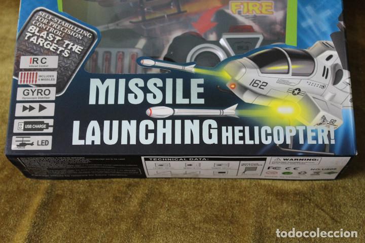 Radio Control: Missile launching helicopter, air attack de UDI R/C, En estuche completo. - Foto 3 - 285315928