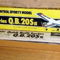 Radio Control: ANTIGUA AVIONETA Q.B.20SII - PILOT QUICK BUILT SERIES - MADERA - NUEVA A ESTRENAR Y EN SU CAJA. Lote 267005059