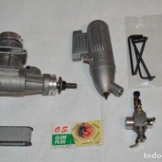 Radio Control: MOTOR 4,6 CC / AVIÓN SUPER STEARMAN - COLECCIÓN ALTAYA / AVIÓN RADIOCONTROL ¡MIRA FOTOS/DETALLES!. Lote 268444274