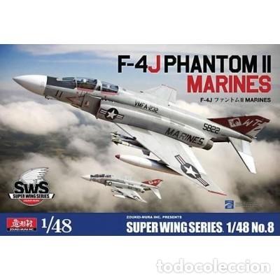 MAQUETA 1/48 - F-4J PHANTOM II MARINES ZOUKEI-MURA | NO. SWS48-08 | 1:48 (Juguetes - Modelismo y Radiocontrol - Radiocontrol - Aviones y Helicópteros)