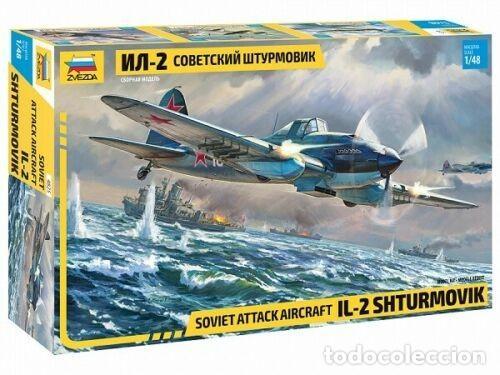 MAQUETA 1/48 - IL-2 SHTURMOVIK ZVEZDA | NO. 4825 | 1:48 (Juguetes - Modelismo y Radiocontrol - Radiocontrol - Aviones y Helicópteros)