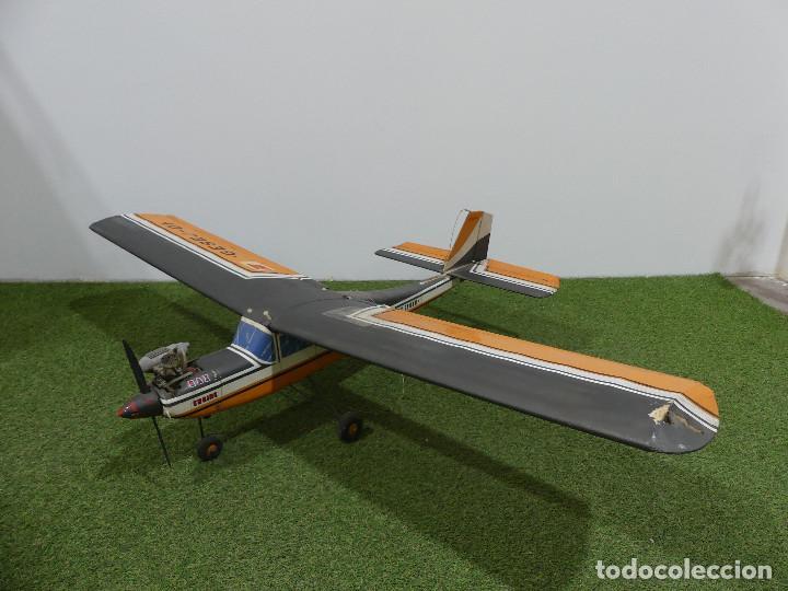 AVION MODELISMO RADIOCONTROL CON MOTOR MAX OS -703 – SOLO RECOGIDA LOCAL (Juguetes - Modelismo y Radiocontrol - Radiocontrol - Aviones y Helicópteros)