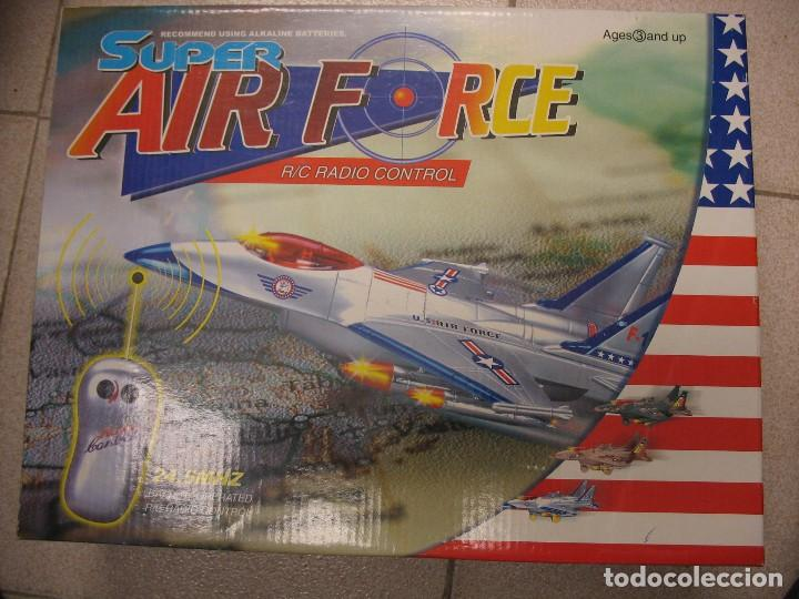 Radio Control: avion super air force radio control - Foto 9 - 276580468