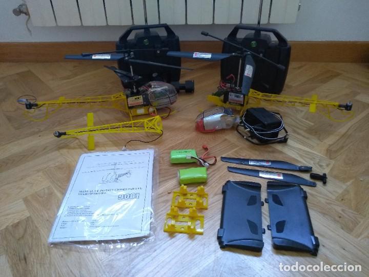 Radio Control: Lote Helicopteros RC 9081 - Foto 2 - 277829168
