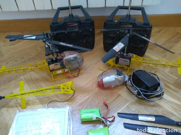 LOTE HELICOPTEROS RC 9081 (Juguetes - Modelismo y Radiocontrol - Radiocontrol - Aviones y Helicópteros)
