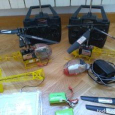 Radio Control: LOTE HELICOPTEROS RC 9081. Lote 277829168