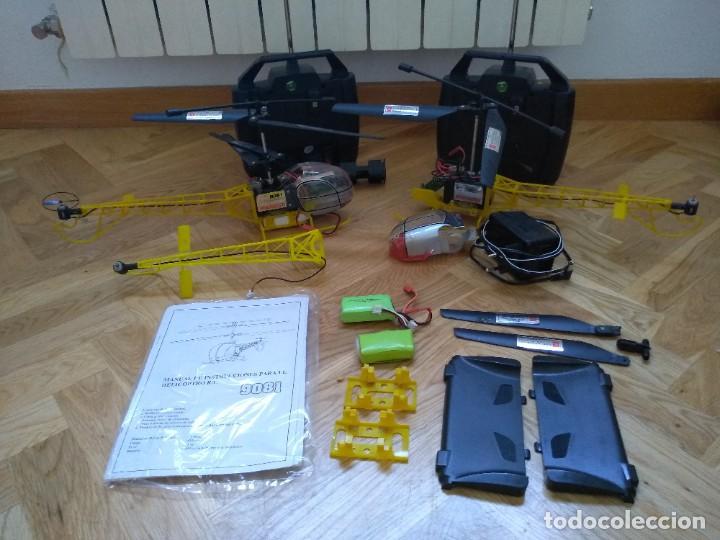 Radio Control: Lote Helicopteros RC 9081 - Foto 11 - 277829168