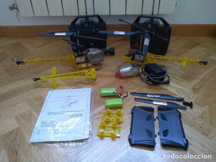 Radio Control: Lote Helicopteros RC 9081 - Foto 12 - 277829168